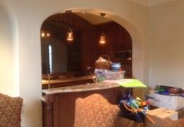 'Before' photo of Dallas Home Remodel by Desco Homes