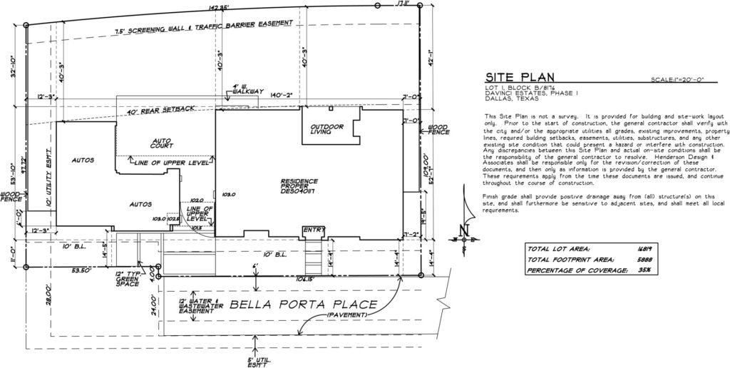 For Sale By Desco Fine Homes: New Custom Home at 1 Bella Porta Place in North Dallas, TX